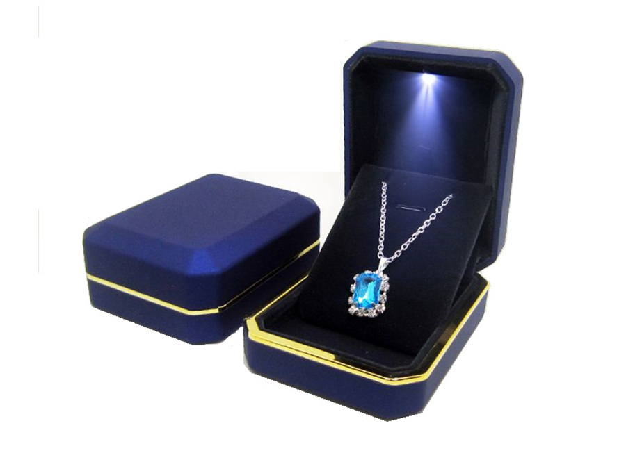 Led light jewelry box