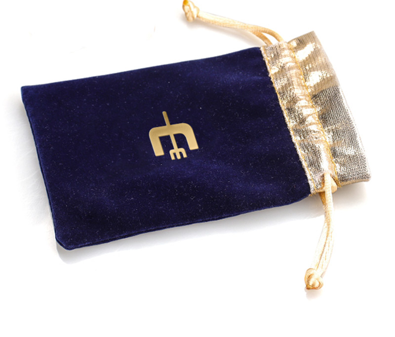 Custom gold stitching pouch
